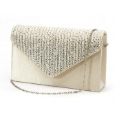 BROOKLYN CHAMPAGNE SPARKLE CLUTCH