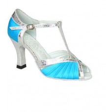 CATALINA BLUE - 2.5 INCH HEEL