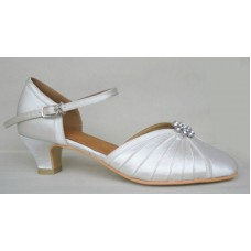 GEORGIA IVORY 2 - 1.5 INCH HEEL - RESIN SOLE
